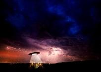 """""""Прилетевший на шашлыки"""" НЛО засветился в небе над Таманью - ВИДЕО, фото — «Рекламы Новороссийска»"""