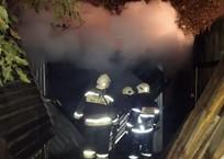 Пожару в поселке Знаменском в Краснодаре присвоили повышенный ранг, фото — «Рекламы Кубани»