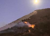 На горе Колдун в Новороссийске загорелся лес, фото — «Рекламы Ейска»