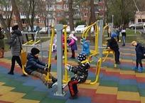 В селе под Геленджиком открыли три детские площадки, фото — «Рекламы Геленджика»