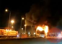 В пригороде Краснодара сгорел очередной вахтовый автобус, фото — «Рекламы Краснодара»