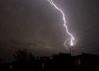 В Белореченске удар молнии оставил без света 1,8 тыс. человек, фото — «Рекламы Белореченска»