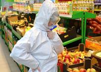 Безопасность превыше всего: как геленджичанам не подхватить коронавирус в продуктовом, фото — «Рекламы Геленджика»