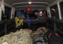 На Кубани внедорожник УАЗ рухнул в 40-метровый обрыв, пострадали люди, фото — «Рекламы Новороссийска»