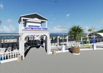 В Геленджике к курортному сезону начали готовить пляжи, фото — «Рекламы Геленджика»