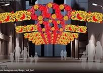 10 необычных проектов новой иллюминации улицы Красной в Краснодаре ФОТО, фото — «Рекламы Краснодара»