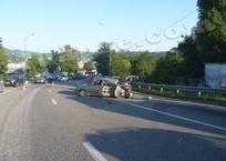 На объездной дороге в Туапсе произошло ДТП. Есть пострадавшие, фото — «Рекламы Тихорецка»