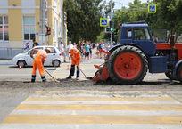 В центре Геленджика начали ремонтировать дорогу, которую размыло ливнем, фото — «Рекламы Геленджика»