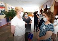 Школы Краснодарского края получат средства защиты от коронавируса к 1 сентября, фото — «Рекламы Адлера»