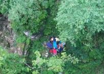 Спас рюкзак: в Апшеронском районе 13-летний школьник чудом выжил после падения со скалы ФОТО, фото — «Рекламы Апшеронска»