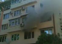 В Адлере соседи вывели из горящей квартиры трех детей и пожилую женщину, фото — «Рекламы Кубани»