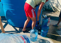 В Геленджике организовали подвоз воды в район, оставшийся без водоснабжения, фото — «Рекламы Геленджика»