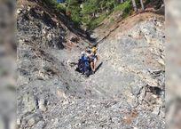 Под Геленджиком спасатели сняли со скалы туриста из Москвы, фото — «Рекламы Геленджика»
