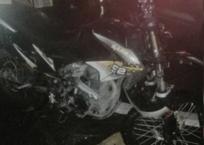В Геленджике разыскивают водителя, который бросил мотоцикл на дороге после ДТП, фото — «Рекламы Геленджика»