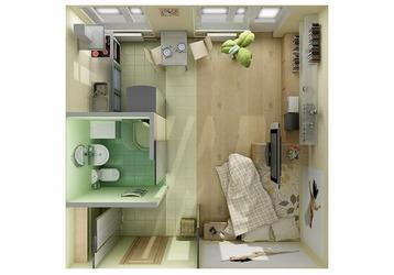 15 классных планировок маленьких квартир, фото — «Реклама Кубани»