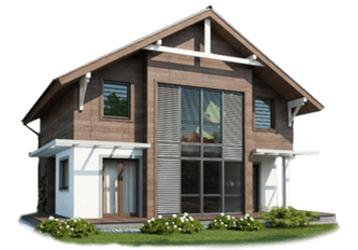 Канадские дома строят круглогодично, фото — «Реклама Приморско-Ахтарска»