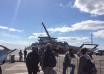 На Керченской переправе с парома в море упал автомобиль ФОТО, фото — «Рекламы Крыма»