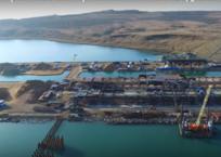 Стройку Крымского моста сняли с квадрокоптера (видео 5 ноября), фото — «Рекламы Бахчисарая»