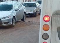 """Обледенелые """"полицейские"""" превратились в ловушки для крымских водителей (ФОТО), фото — «Рекламы Черноморского»"""