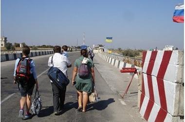 В Крыму хотят поставить на учет всех прибывающих с территории Украины, фото — «Рекламы Белогорска»