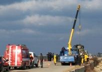 Из бухты Севастополя вытащили автомобиль с двумя погибшими, фото — «Рекламы Севастополя»