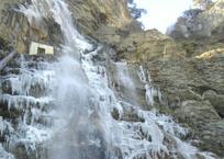 В Крыму замерз самый высокий водопад в Европе Учан-Су ФОТО, фото — «Рекламы Щелкино»