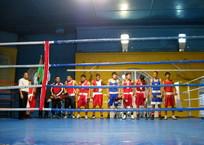 В городе в матчевой встрече по боксу сошлись сборные Севастополя и Туркменистана, фото — «Рекламы Севастополя»