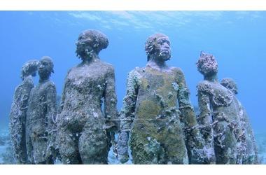 Подводный музей скульптур в Крыму — «Аллея вождей», Тарханкут (ФОТО), фото — «Рекламы Феодосии»