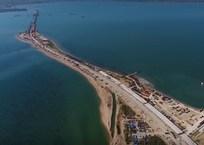 На стройке моста в Крым приступили к сооружению тел фарватерных опор, фото — «Рекламы Красногвардейского»