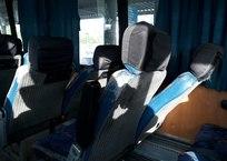 """Крым встречает гостей на переправе """"престарелыми"""" автобусами ФОТО, СКРИНШОТ, фото — «Рекламы Белогорска»"""