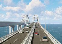Арки Крымского моста показали в обновленной 3D-визуализации ВИДЕО, фото — «Рекламы Крыма»