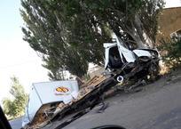 В Крыму вдребезги разбился грузовик, наполненный хлебом (фото), фото — «Рекламы Партенита»