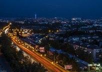 Симферополь. Ночная столица ФОТО, фото — «Рекламы города Саки»