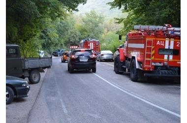 В Балаклавском районе на трех гектарах бушевал пожар ФОТО, ВИДЕО, фото — «Рекламы Севастополя»