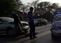 Полицейская «Лада» разбилась в ДТП на трассе Симферополь-Феодосия, фото — «Рекламы Крыма»