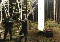 Поврежденную ЛЭП под Алуштой восстанавливают в две смены ФОТО, фото — «Рекламы Феодосии»