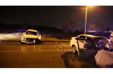 В Крыму Лада, обгоняя автобус, врезалась в Мерседес - погиб водитель ФОТО, ВИДЕО, фото — «Рекламы Феодосии»