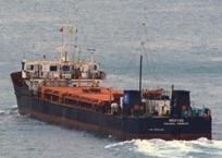 Брошенное у берегов Крыма судно с голодающим экипажем зашло в порт Керчь, фото — «Рекламы Щелкино»