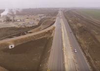 Появилось новое видео стройки автоподходов к Керченскому мосту, фото — «Рекламы Фороса»