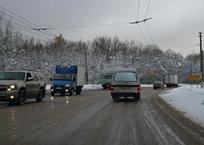 Ангарский перевал засыпает мокрым снегом, фото — «Рекламы Симферополя»