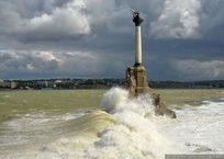 В Севастополе из-за шторма не ходят паромы, фото — «Рекламы Севастополя»