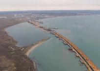 Появилось новое видео со стройки Керченского моста, фото — «Рекламы Фороса»