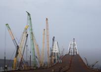 Глава Крыма: Первым по Крымскому мосту поедет Владимир Путин, фото — «Рекламы Коктебеля»