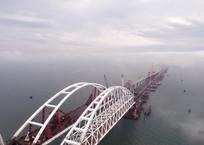 Автодорогу к Крымскому мосту будут использовать уже в мае 2018 года, фото — «Рекламы Коктебеля»