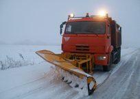 В Крыму снегоуборочная техника сломалась в течение часа после выезда, фото — «Рекламы Красноперекопска»