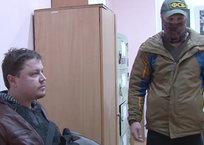 В Сети появилось видео задержания в Крыму подозреваемого в шпионаже украинца, фото — «Рекламы Алушты»