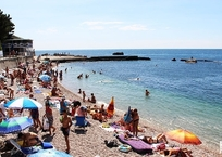 Количество пляжей в Крыму увеличится до 450 уже в этом сезоне, фото — «Рекламы Партенита»