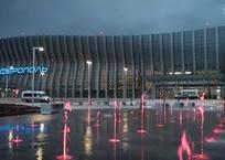 Появилось видео нового терминала аэропорта Симферополь — то, что видел только Путин, фото — «Рекламы Партенита»