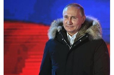 Путина выбрали президентом более 52 млн россиян, в Крыму и Севастополе - свыше 90% избирателей, фото — «Рекламы Коктебеля»