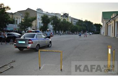 В районе Привокзальной площади в Феодосии установят шлагбаум , фото — «Рекламы Крыма»